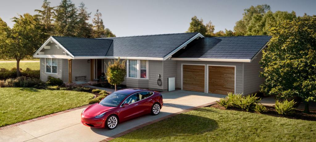 Les toits solaire tesla